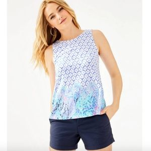 Lilly Pulitzer, Kristen Tank Top, Size M - NWT